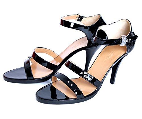 (エルメス) HERMES シューズ レディース サンダル 靴 ORNELLA90-071028Z ブラック 36.5 23cm [並行輸入品]