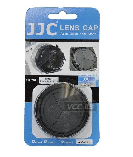 JJC alc-g1Xプロフェッショナル自動レンズキャップfor Canon g1X