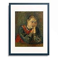 アレクセイ・フォン・ヤウレンスキー Alexej von Jawlensky 「Child with Trimmed Head. 1906」 額装アート作品