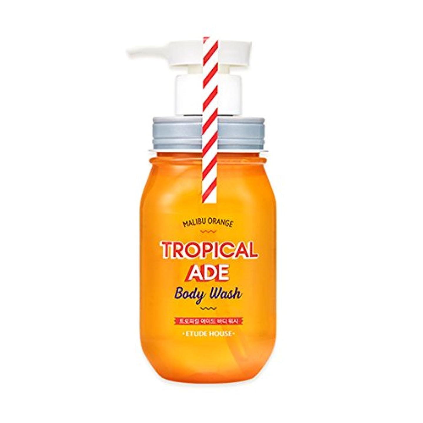 崇拝します立ち寄るポジティブETUDE HOUSE TROPICAL ADE Body Wash # Malibu Orange /エチュードハウス トロピカルエイドボディウォッシュ 300ml [並行輸入品]