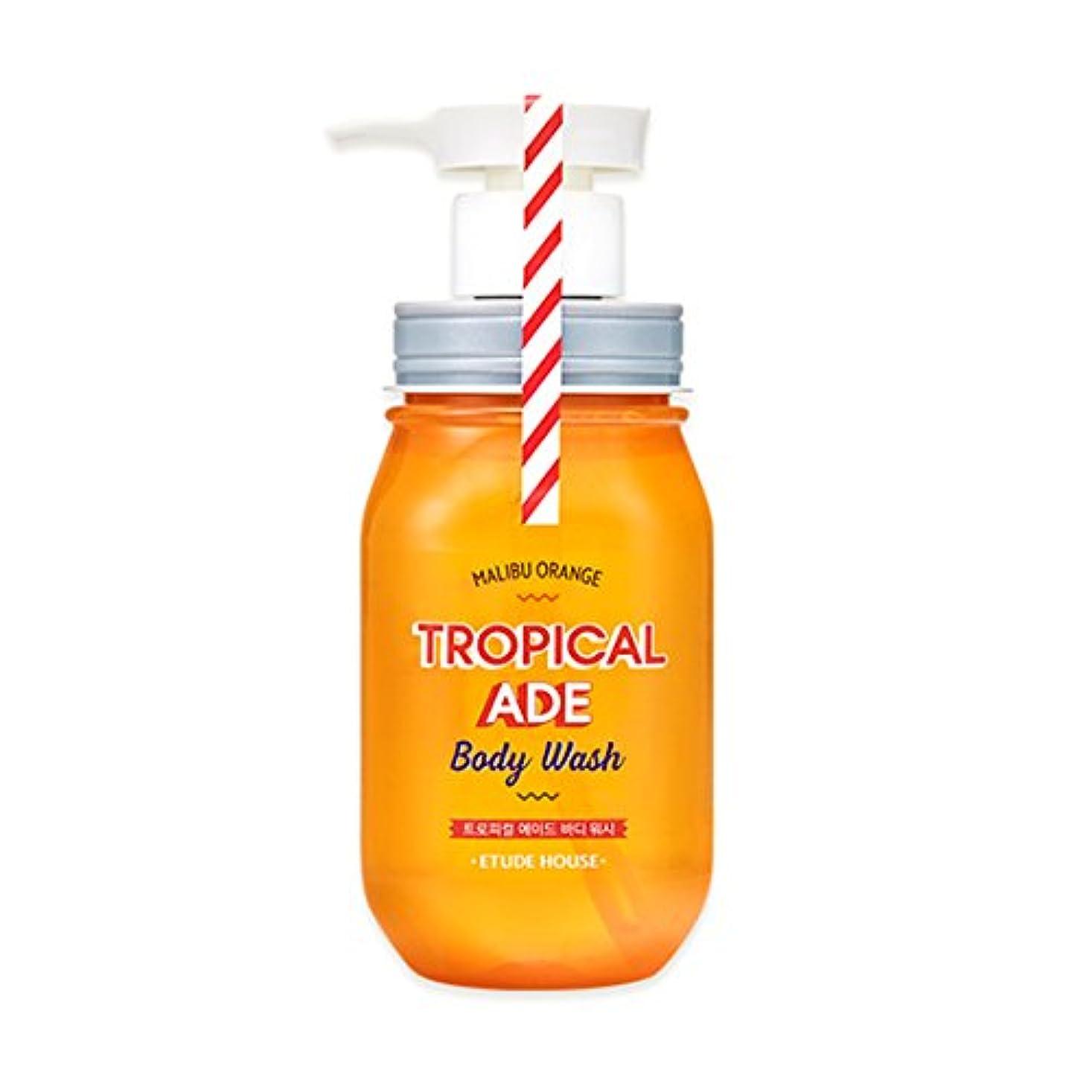 ETUDE HOUSE TROPICAL ADE Body Wash # Malibu Orange /エチュードハウス トロピカルエイドボディウォッシュ 300ml [並行輸入品]
