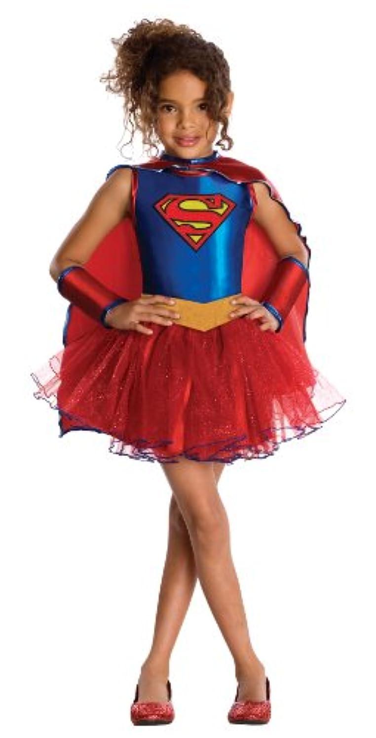 手首何故なの縁石Supergirl Tutu Child Costume スーパーガールチュチュ子供用コスチューム?ハロウィン?サイズ:Small (4-6x)