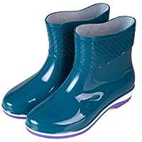 MEIGUIshop Rain Boots - Waterproof Non-Slip Low Boots