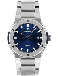 [ウブロ] 腕時計 HUBLOT 548.NX.7170.NX クラシック フュージョン チタニウム ブルー文字盤 42ミリ 自動巻き [中古品] [並行輸入品]