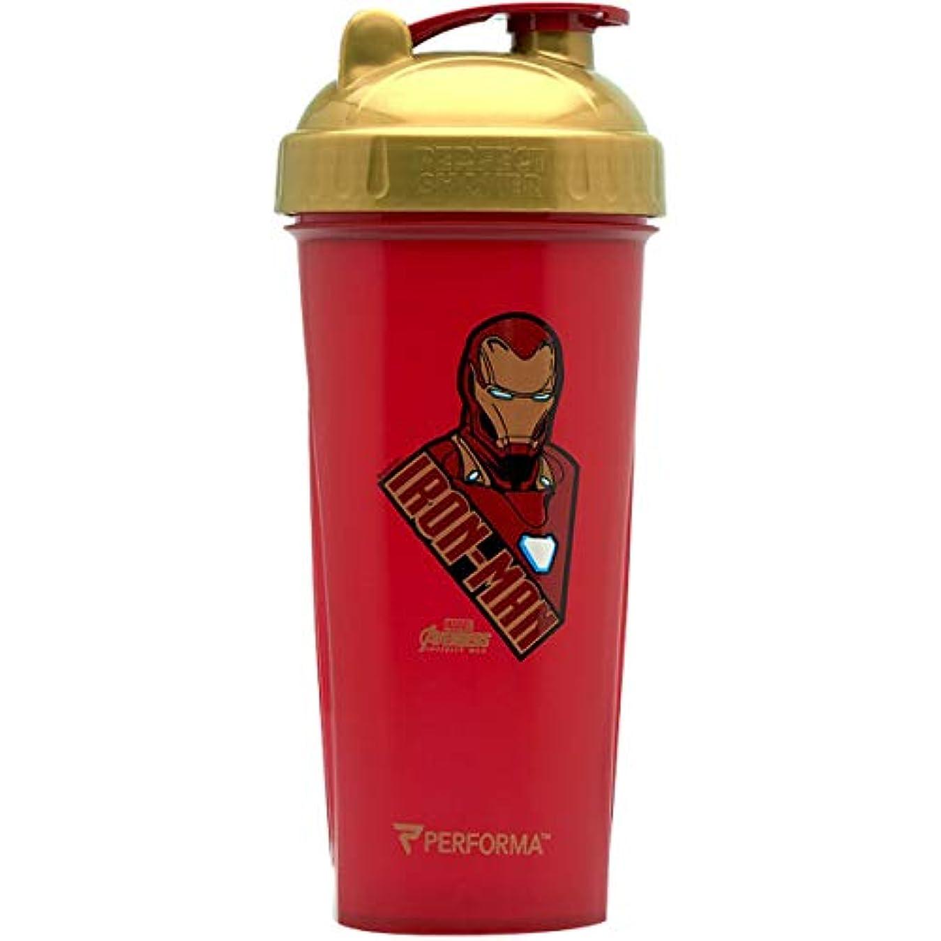 乳剤症状重なるBOT-12 ボトル シェイカー プロテイン 水筒 筋トレ ジム ブレンダ― ミキサー アントマン ヒーロー 800ml (BOT-17)