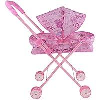 Fenteer ミニ プッシュカートおもちゃ ごっこ遊びおもちゃ ベビープッシュカート プッシュチェア