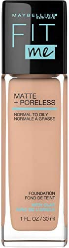 Maybelline Fit Me Matte & Poreless Mattifying Liquid Foundation - True Beige