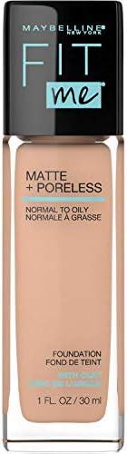 Maybelline Fit Me Matte & Poreless Mattifying Liquid Foundation - True Beige