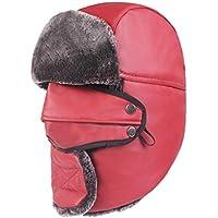 8548276904a BESBOMIG Faux Fur Classic Winter Windproof Snow Ski Cap - Sport Hat Hunting  Resist Cold Wind