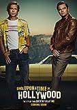 映画 ワンス・アポン・ア・タイム・イン・ハリウッド 約90cm×60cm シルク調生地のアートポスター 05 レオナルド・ディカプリオ レオナルドディカプリオ ブラッド・ピット タランティーノ ワンスアポンアタイムインハリウッド