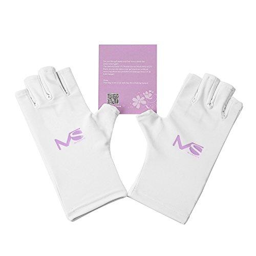 MelodySusie UVカット手袋 紫外線カット UV/LEDライトのネイル...