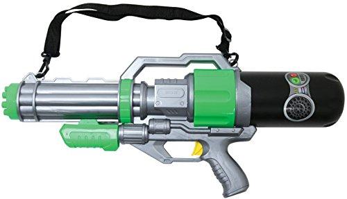水鉄砲 水ピストル エアメタルブラスター 男女共用 約1100cc