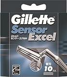 ジレット センサーエクセル 替刃 × 12個セット