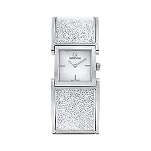スワロフスキー SWAROVSKI 腕時計 クリスタルライン バングル ステンレススチール ウォッチ 5027134【並行輸入品】