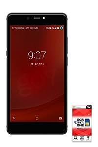 gooのスマホ g07 (グーマルナナ) 格安スマホ OCNモバイルONE SIMカード付 (音声SIM, ブラックパネル)