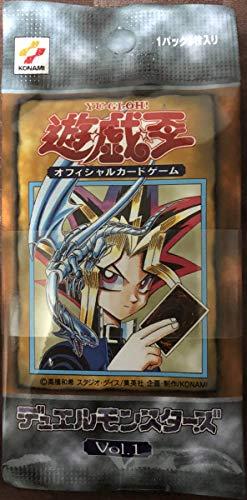 帯止め遊戯王 Vol.1 復刻パック 20th ANNIVERSARY SET アニバーサリーセット 3パック 未開封