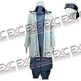 【コスプレ】NARUTO -ナルト- 第二部 風 油女シノ タイプ 衣装 男性用LL