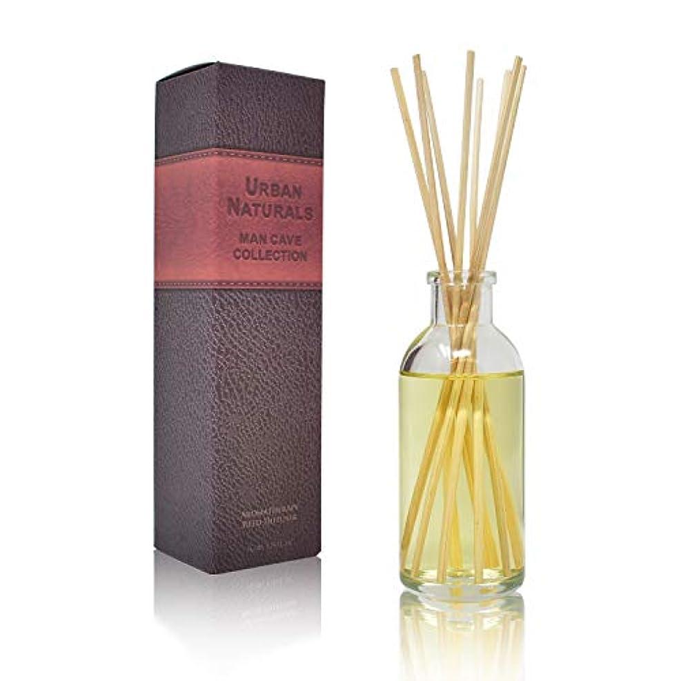 決定お互い最後にUrban Naturals旅行コレクションの香りホームAmbiance Reed Diffuser Giftセット UN-Diffuser-MANCAVE