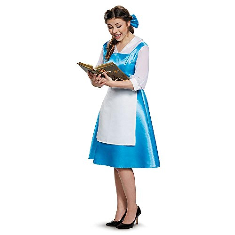 Disguise ベル青いドレスの大人の衣装、女性、12-14