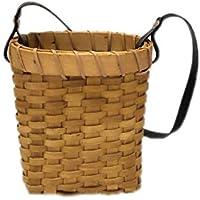バスケット 手作り 手提げ 草編みバスケット 収納バッグ 貯蔵バスケット ハンドル付き 収納バスケット 小型 大容量 保管 かわいい 多用途 利便性最高