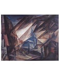niedergrunstet by Lyonel Feininger – 28 x 22インチ – アートプリントポスター LE_27605