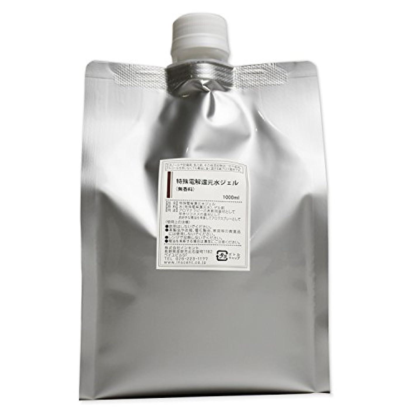 欠如乳製品ナビゲーション(詰替用 アルミパック) アロマスプレー (アロマシャワー) 無香料 特殊電解還元水ジェル 1000ml インセント
