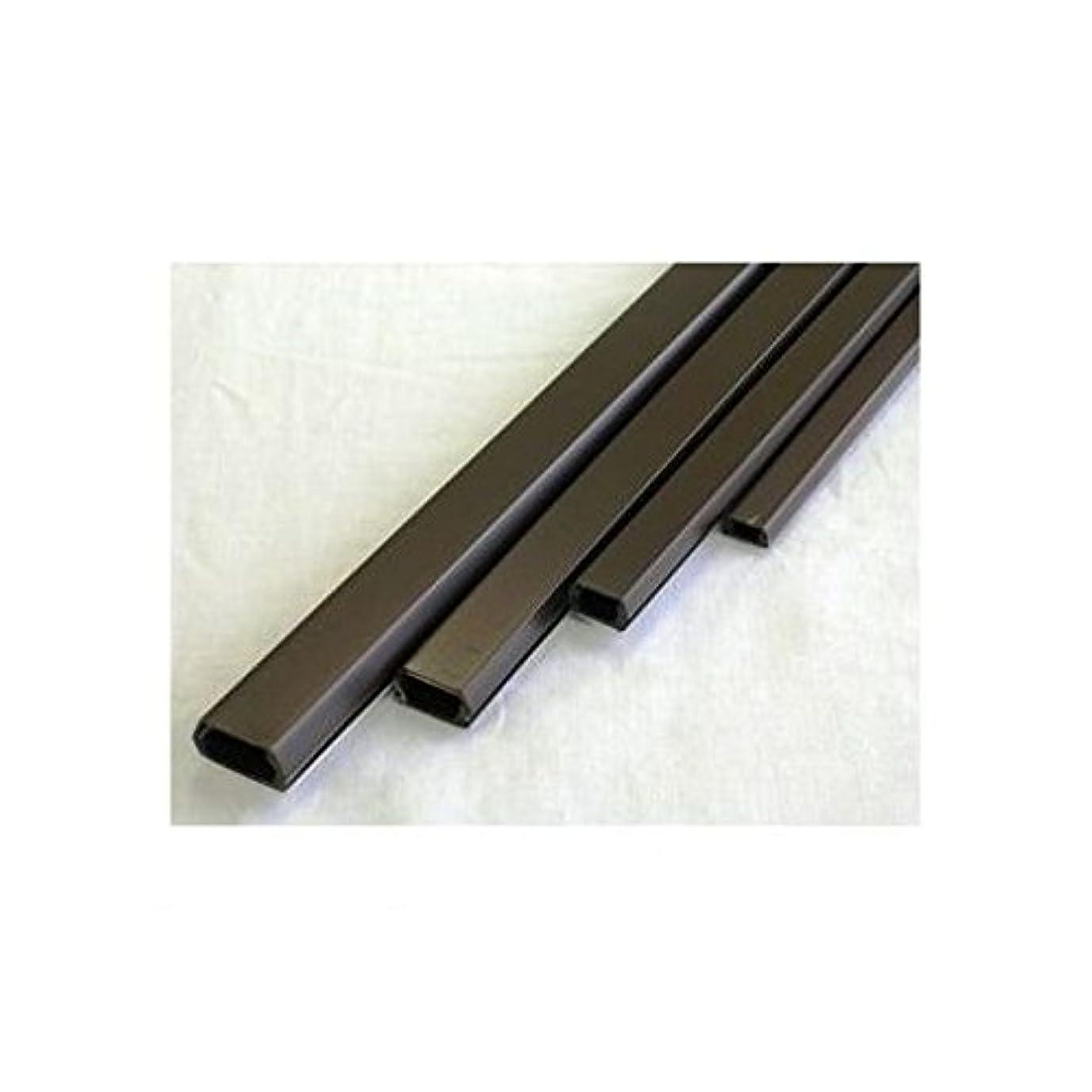 フレット割り込み取り組むFL44920 テープ付きモール2号 チョコ 1m