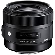 Sigma 30mm f/1.4 DC HSM Art for Canon & Bonus Sandisk 32GB SD Card
