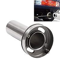 4.5インチの普遍的な車304のステンレス鋼の排気管のマフラー調節可能なテールマフラーの先端 ハイクオリティ