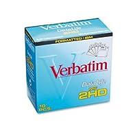 Verbatim ® 3.5インチフロッピーディスクディスク、DS/HD、3.5、IBM、2mb 6703(パックof20)