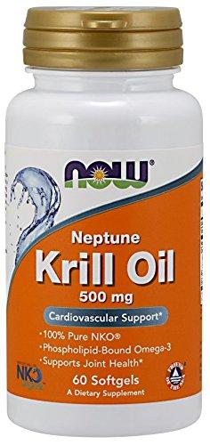 ネプチューンオキアミ油 (500mg) 60 sgels 2個パック