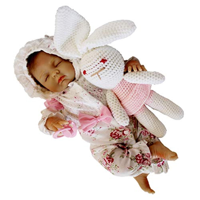 Baoblaze 18インチ リアル ビニール製 赤ちゃん人形 リボーンドール人形 女の子人形 子供 おもちゃ