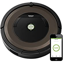iRobot Roomba 890 Robot Vacuum Cleaner with Wi-Fi Connectivity, Works with Alexa, Ideal for Pet Hair, Carpets, Hard Floor Surfaces