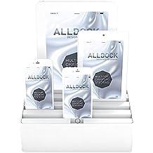 Alldock Medium White Base with White Top (White/White)