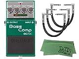 【パッチケーブル3本 + クロス セット】BOSS(ボス) Bass Comp(ベースコンプ) BC-1X