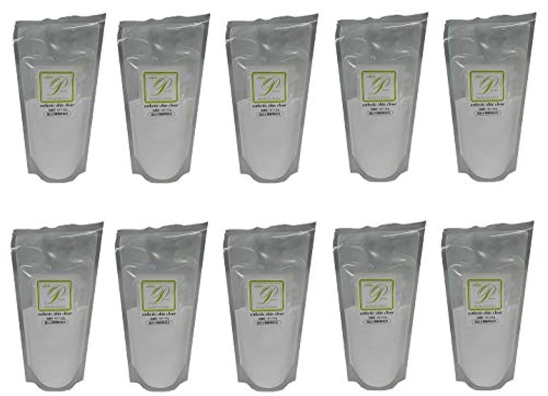 行政パッチまっすぐ【10個セット】メロス プラスマンスキンケア 酵素 スキンクリア N 120g レフィル