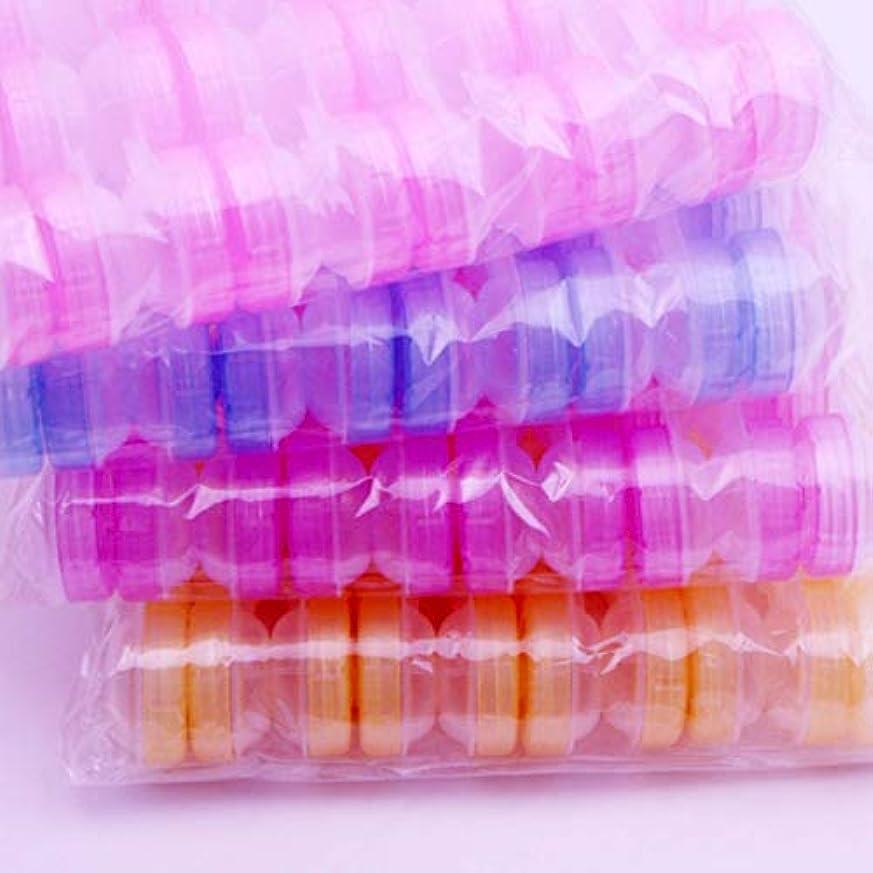 けがをする震えるストレージIntercorey 10ピース透明コンタクトレンズケースダブルボックス透明美容メイトボックス美容ケアボックス見えないボックス