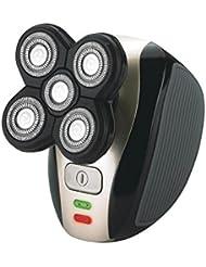 キングカニ 5-in-1防水髭シェービング USB充電安全シェーバー電気シェーバー(男性)