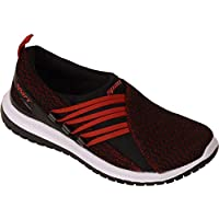 SPARX Women Black Red Slip On Sports Shoes