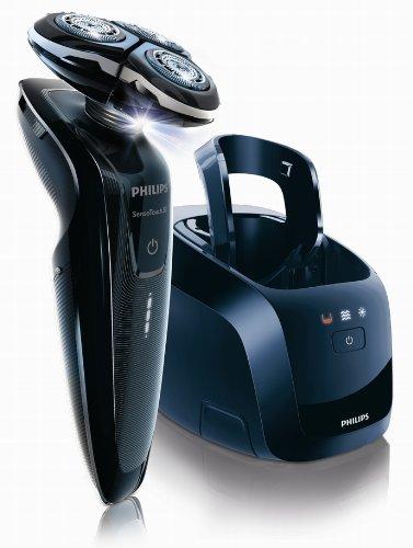 PHILIPS SensoTouch3D 【上下左右に自由自在・独立可動3Dシステムのかつてないフィット感! 】 洗浄充電器付シェーバー RQ1250CC 〔発売記念特別パック・ノーズトリマー付き〕
