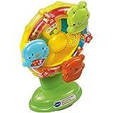 VTech Baby 165903 Little Friendlies Sing-Along Spinning Wheel, Multi