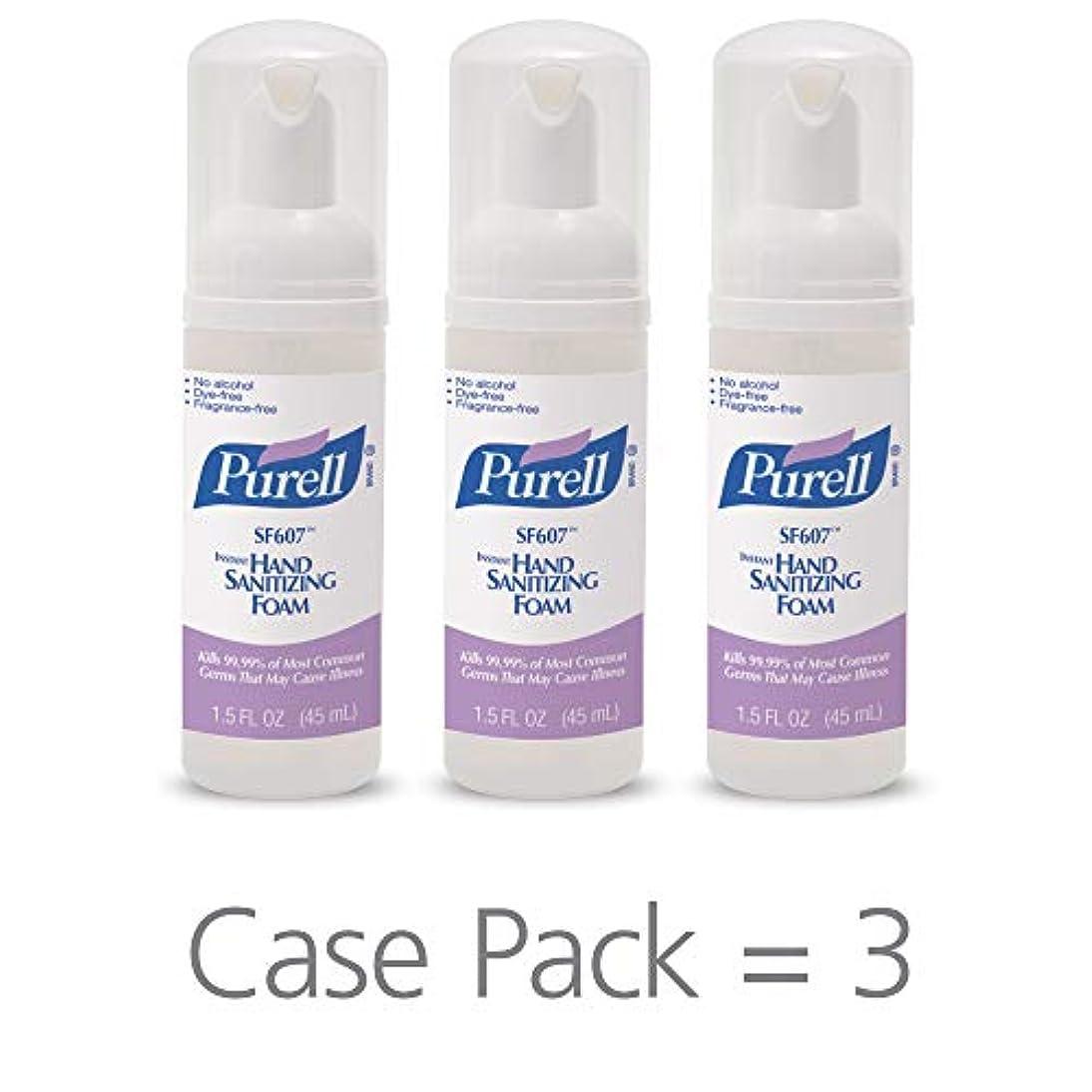起きているファン見つけるPURELL SF607手の消毒液フォームポンプボトル ポータブル 45ml 24本ケース 5684-24