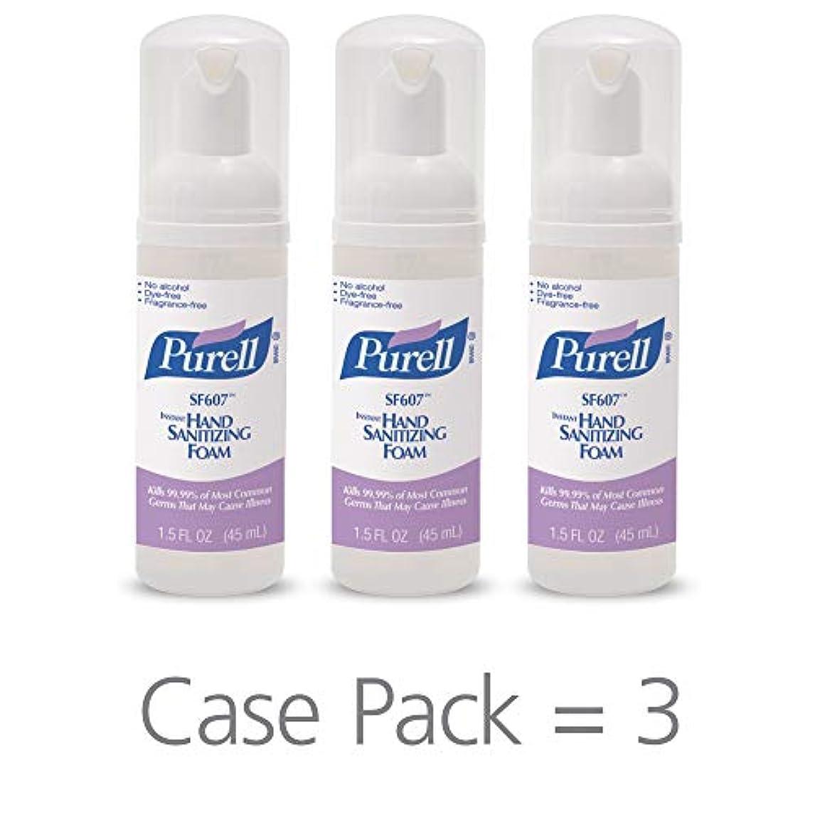 平行嫌いパイルPURELL SF607手の消毒液フォームポンプボトル ポータブル 45ml 24本ケース 5684-24