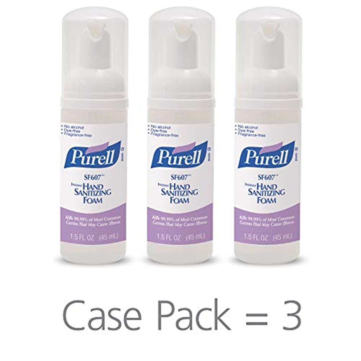 発掘する看板協力PURELL SF607手の消毒液フォームポンプボトル ポータブル 45ml 24本ケース 5684-24