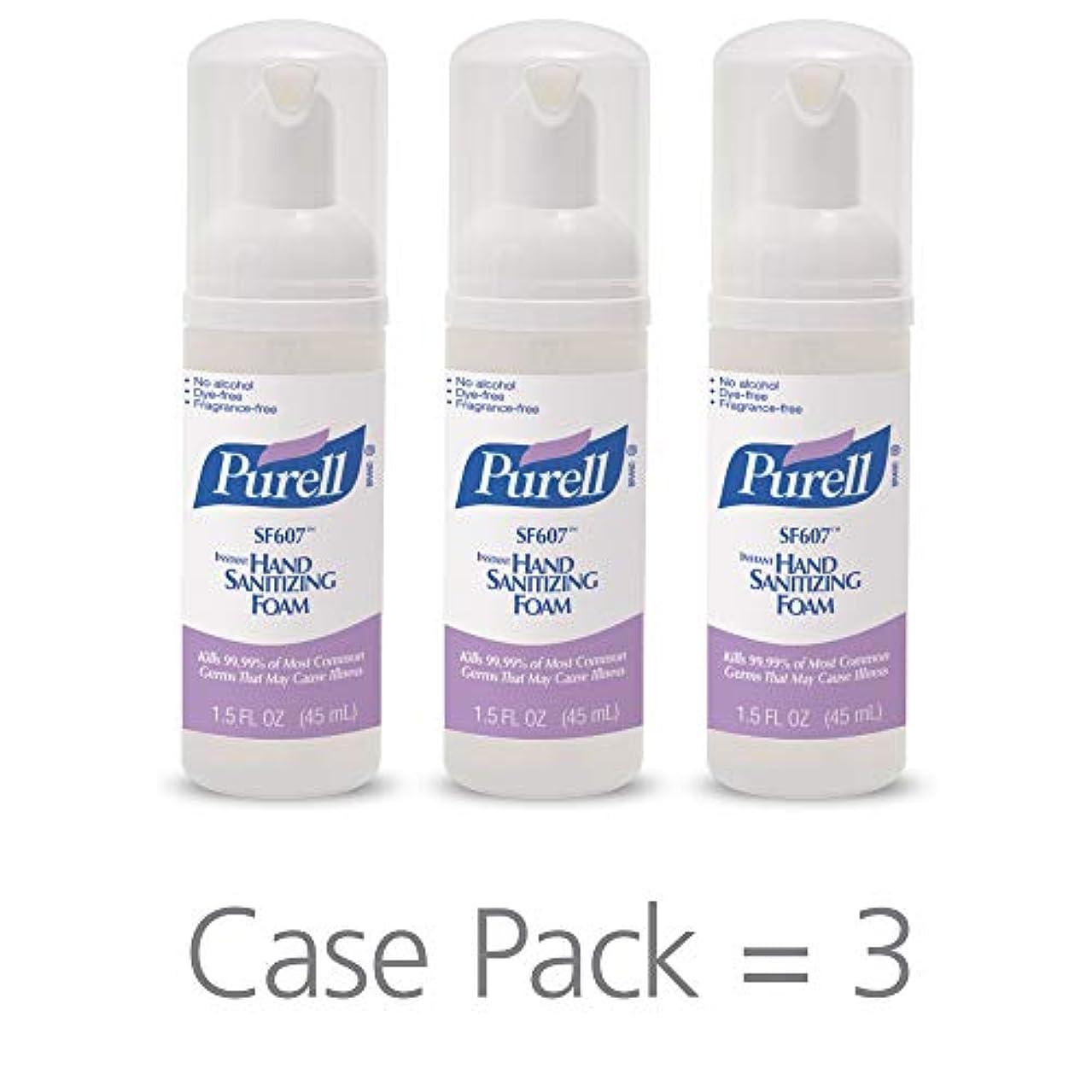 診療所カフェ体細胞PURELL SF607手の消毒液フォームポンプボトル ポータブル 45ml 24本ケース 5684-24