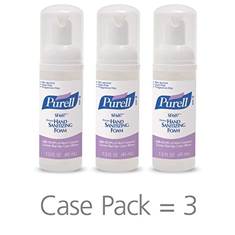 カテナ影響する縮れたPURELL SF607手の消毒液フォームポンプボトル ポータブル 45ml 24本ケース 5684-24