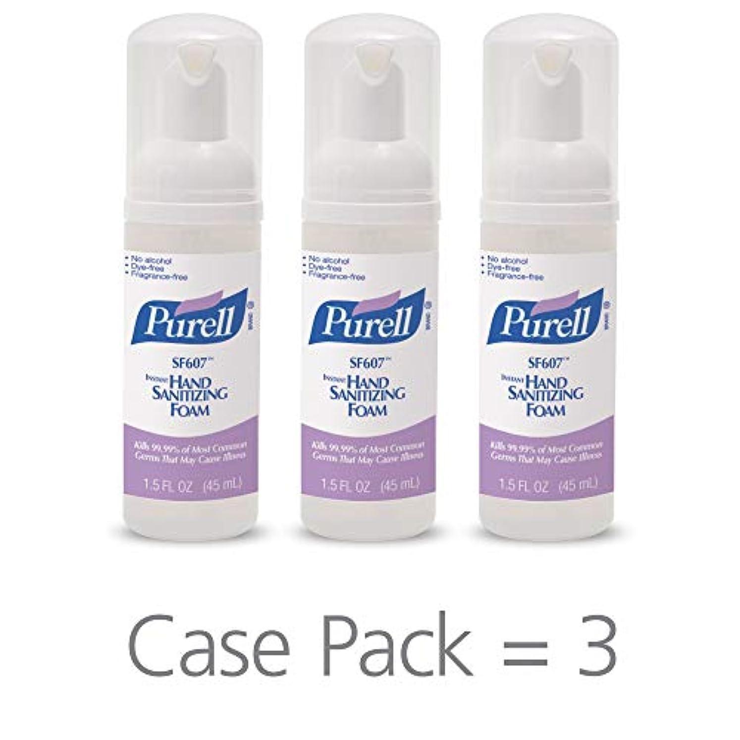 人気タバコ面PURELL SF607手の消毒液フォームポンプボトル ポータブル 45ml 24本ケース 5684-24
