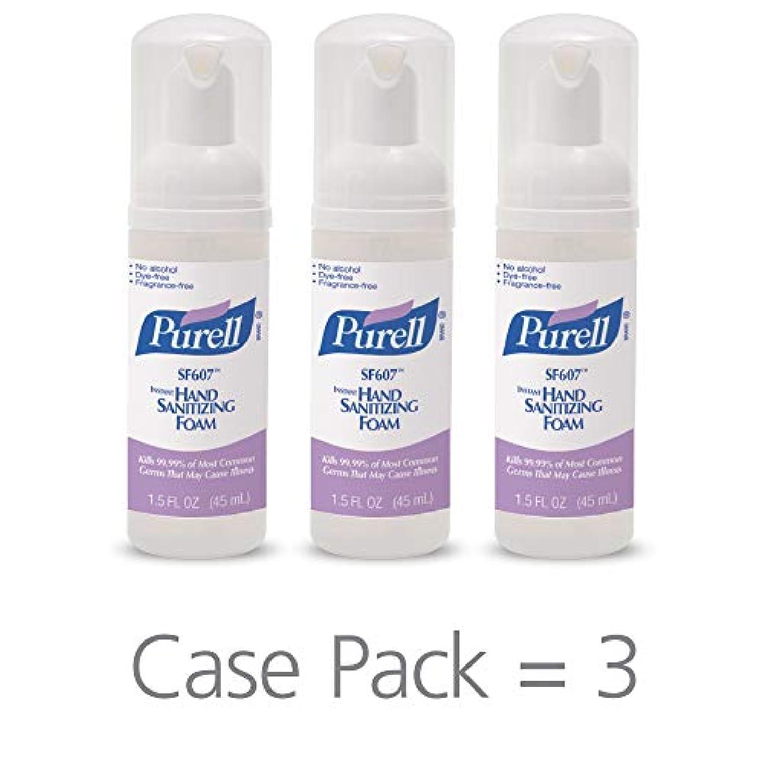 開業医月面肯定的PURELL SF607手の消毒液フォームポンプボトル ポータブル 45ml 24本ケース 5684-24