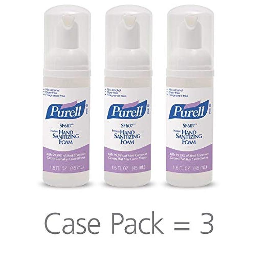 右化学薬品醸造所PURELL SF607手の消毒液フォームポンプボトル ポータブル 45ml 24本ケース 5684-24