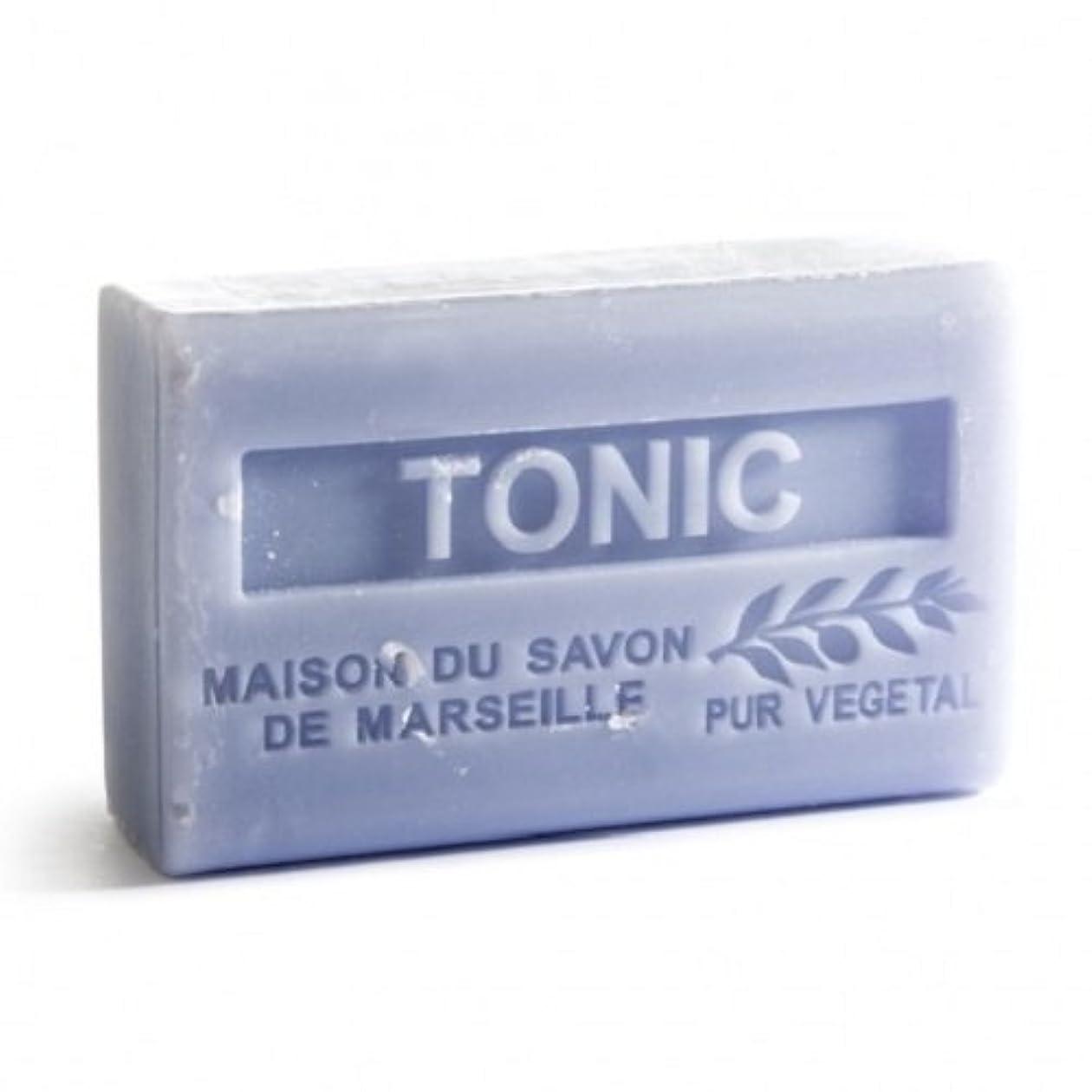 案件潤滑する変形Savon de Marseille Soap Tonic Shea Butter 125g